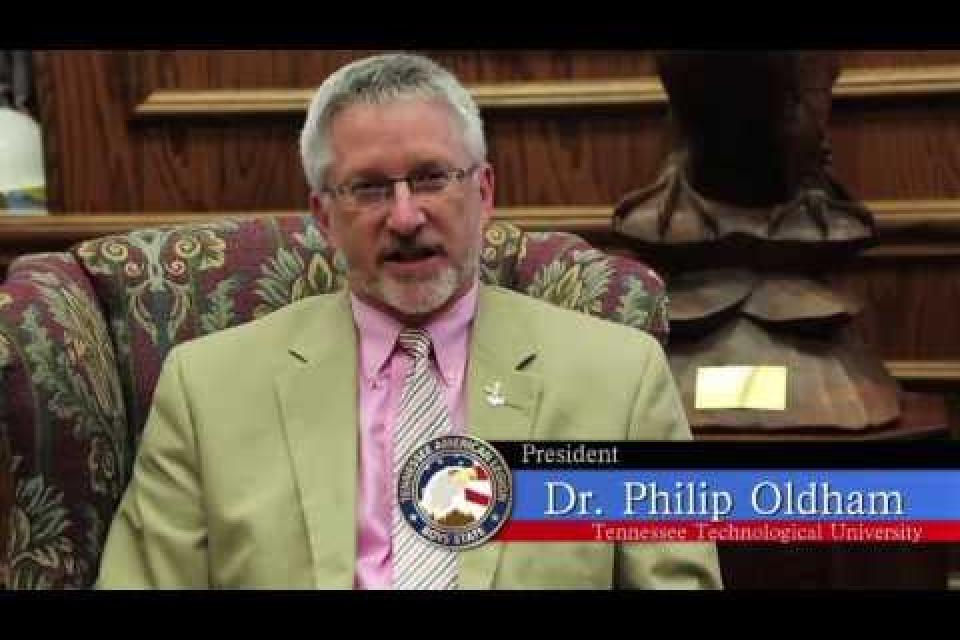 Embedded thumbnail for TTU President Phil Oldham