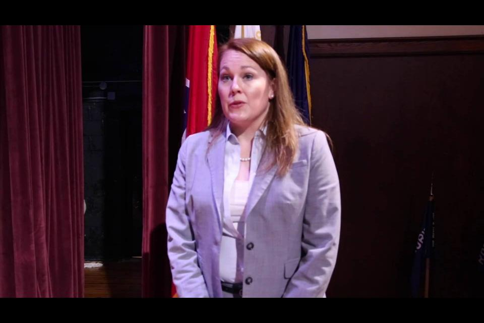 Embedded thumbnail for Assistant Attorney General Caroline Knight
